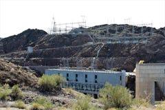Запруда Parker, Parker, Аризона, La Paz County, Соединенные Штаты Стоковое Фото