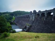 Запруда Vyrnwy озера, Powys Стоковые Фото