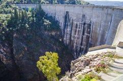 запруда гидроэлектрическая Стоковое Изображение