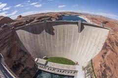 Запруда каньона Глена Стоковые Изображения RF