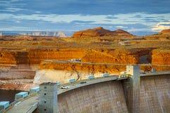 Запруда каньона Глена Стоковые Фото