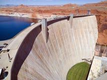 Запруда каньона Глена Стоковое Изображение