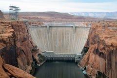 Запруда каньона Глена Стоковое Изображение RF