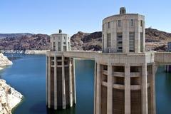Запруда Hoover Невада. Стоковая Фотография RF