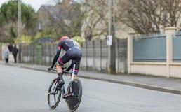 Запруда Laurens 10 велосипедиста - Париж-славное 2016 Стоковые Изображения