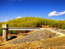 Запруда Naugatuck ручейка хмеля Стоковое фото RF