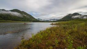 Запруда Srinakarin озера Стоковые Изображения