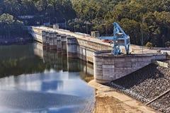 Запруда Warragamba реки Стоковое Изображение