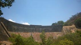 запрудите стену Стоковая Фотография RF