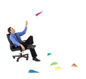 запускать идей бизнесмена новый Стоковая Фотография RF