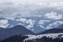 Запустелое тибетское плато Стоковое Фото