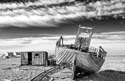 Запустелый пляж Стоковая Фотография RF