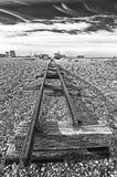 Запустелый пляж Стоковые Фотографии RF