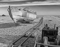 Запустелый пляж Стоковое Изображение RF