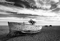 Запустелый пляж Стоковые Изображения