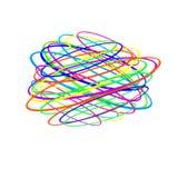 Запутанность потока, линий, графиков, имитируя карандаш иллюстрация вектора