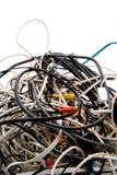 Запутанные проводы стоковое фото