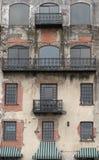 запущенность фасада урбанская Стоковое Изображение RF