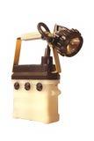 запыланный факел хранения горнорабочей личных охран Стоковые Изображения