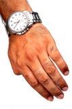 запястье руки вахты Стоковое Фото