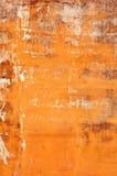 Запятнанная бетонная стена Стоковое Фото