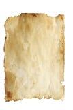 запятнанная бумага Стоковые Фото