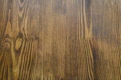 Запятнанная деревянная доска Стоковые Фотографии RF