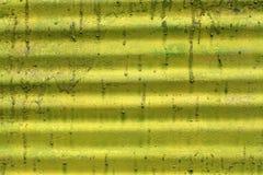 Запятнанная металлическая пластина Стоковая Фотография RF