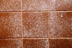 Запятнанная плитка ливня Стоковая Фотография RF