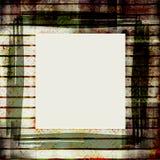 запятнанная старая рамки grungy Стоковая Фотография RF