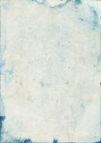 Запятнанная старая текстура бумаги watercolour Стоковые Фото