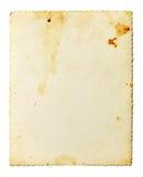 Запятнанное старое фото Стоковые Фотографии RF