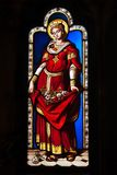 запятнанное стекло замка blois Стоковая Фотография