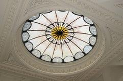 запятнанное стекло потолка Стоковые Фотографии RF