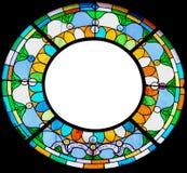 запятнанное стекло рамки Стоковые Фото
