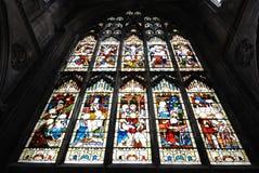запятнанное стекло собора Стоковая Фотография RF