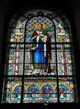 запятнанное стекло церков Стоковые Фото