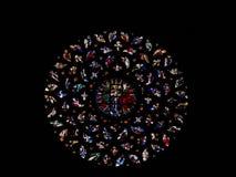 запятнанное стекло Стоковое Фото