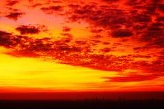 Запятнанные южные небеса Стоковые Изображения