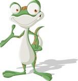 Запятнанный зеленым цветом усмехаться гекконовых бесплатная иллюстрация