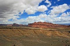 Запятнанный каньон волка, Юта Стоковые Изображения RF