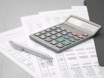 запланирование мыши диаграммы доллара кредиток финансовохозяйственное Стоковая Фотография RF
