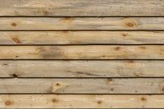 Запланированные деревянные доски отделывают поверхность текстура с предпосылкой ветвей Стоковые Изображения