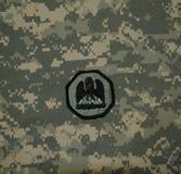 Заплата национальной гвардии Луизианы на ACU Стоковые Изображения RF