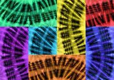 Заплатка африканских тканей Стоковая Фотография