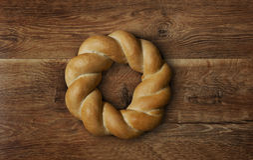 Заплетенный вокруг хлеба Стоковая Фотография RF