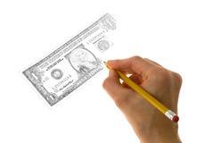зарабатывать деньги Стоковое Фото