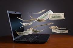 Зарабатывать деньги Стоковые Фото