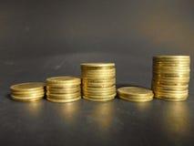 Заработок роста монетки стоковые изображения rf