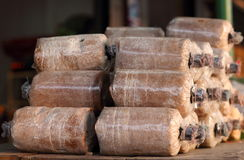 Зараженная предпосылка гриба Loaf Стоковая Фотография